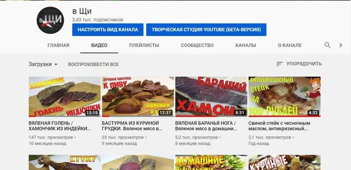 youtybe канал